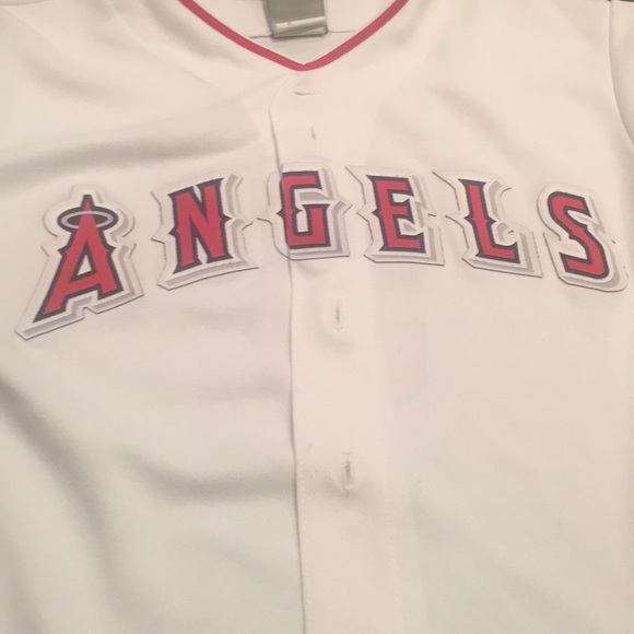 low priced e7b05 1f40a Youth Los Angeles Angels Albert Pujols Jersey